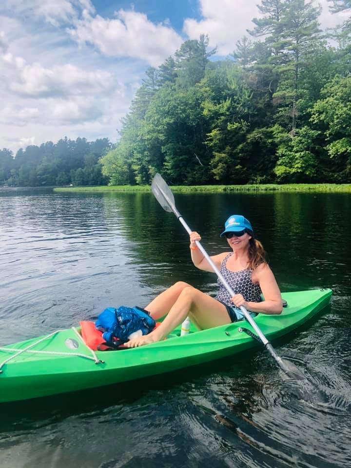 Woodstock Fruit Festival kayak adventure
